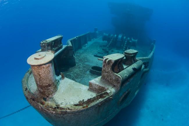 USS Kittiwake Dive site
